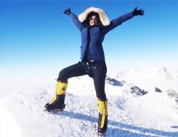 Raha Moharrak, première Saoudienne à dominer le toit du monde