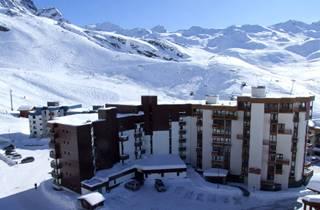 Appartements Le Schuss à Val Thorens