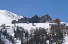 Plagne - Aime 2000 - Skissim - Vue Mont Blanc