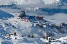 Plagne - Aime 2000 - Skissim - Vue Pistes