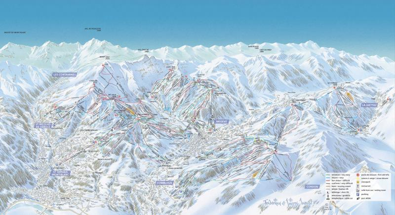 Plan des pistes La Giettaz