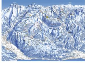 Plan des pistes Avoriaz 1800