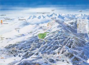 Plan des pistes Font-Romeu