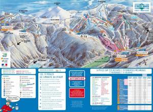 Plan des pistes La Bresse Hohneck