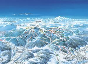 Plan des pistes Métabief