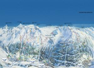 Plan des pistes Val Cenis Vanoise