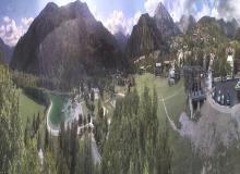Webcam val dallos - le village hiver  le 03-02-2016 à 13:00