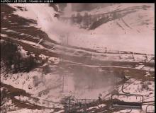 Webcam Auron Dôme - Arrivee du TSD6 du Dôme