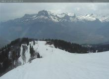 Webcam Combloux Sommet du Christomet