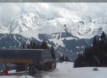 Webcam Combloux Vue sur Megève