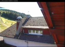 Webcam Gerardmer Bas des pistes : station Mauselaine