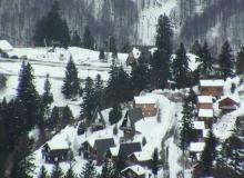 Webcam Guzet Vue sur le secteur du Freychet à partir du sommet du Picou