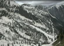 Webcam Isola 2000 Baisse de Druos. Frontiere avec l'Italie