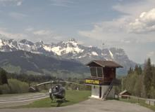Webcam Megève Altiport