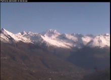 Webcam Montchavin les Coches Le Mont blanc