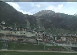 Webcam Montgenevre Front de Neige - Piste Prarial