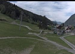 Webcam Morzine Morzine_front de neige du Pléney - 1000 m.