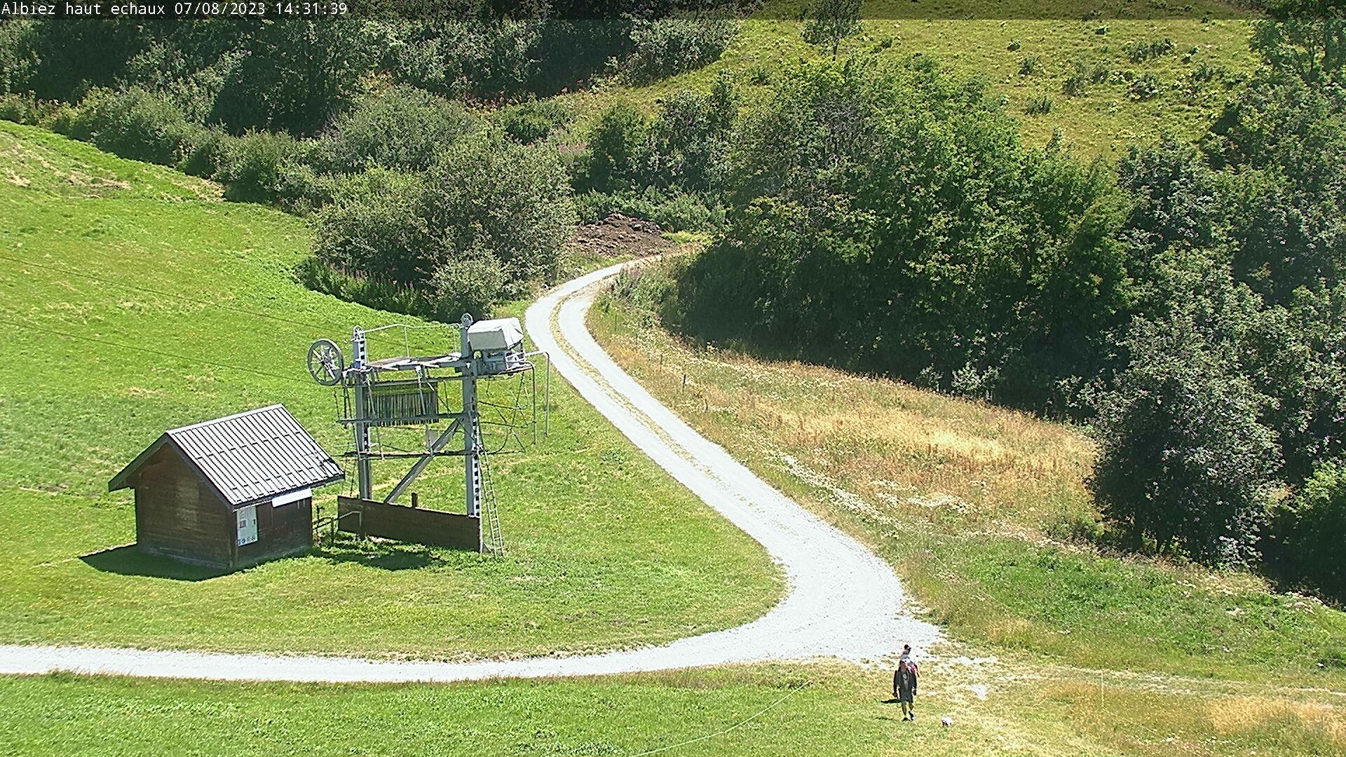 Webcam Piste du Crêt Corbeau - 2100 m
