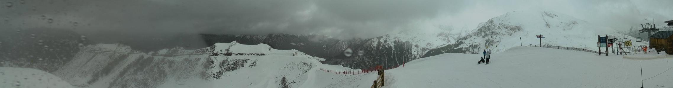 Webcam Panoramique de la Station à partir du haut du Télésiège du Picou