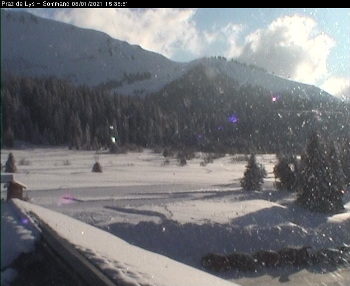 Webcam Pistes de Fond secteur Vallon